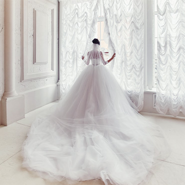 Monarch Wedding Dress Train Length