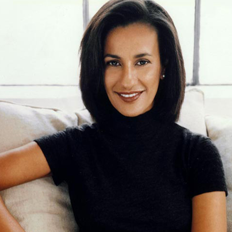 Younger photo of designer Amsale Aberra