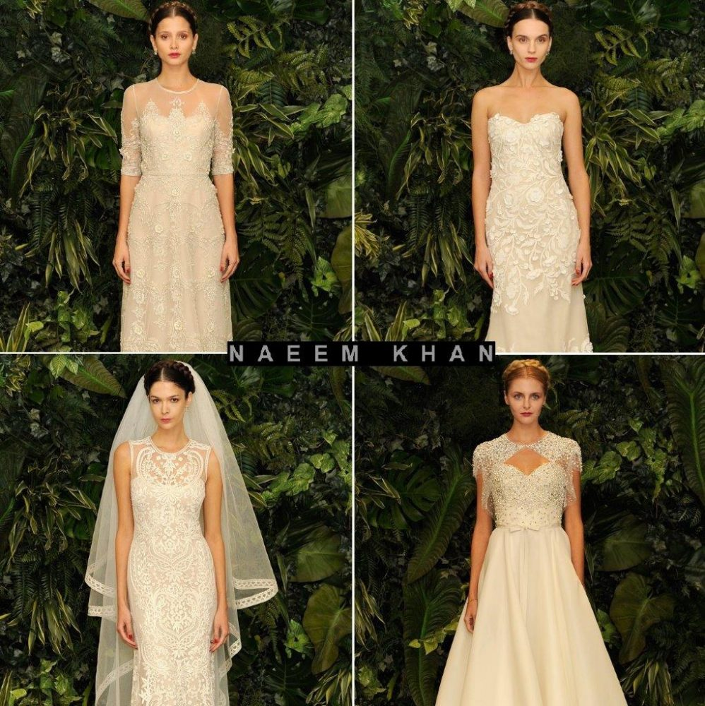 Naeem Khan's first bridal collection in 2013