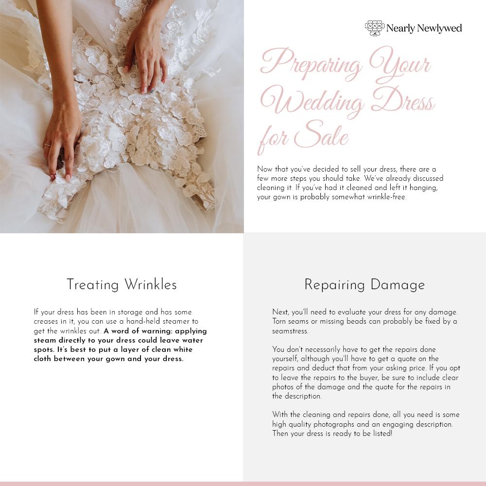 Wedding dress Selling guide