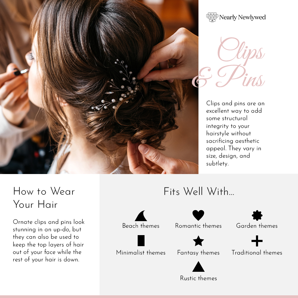 Wedding Clips & Pins Guide