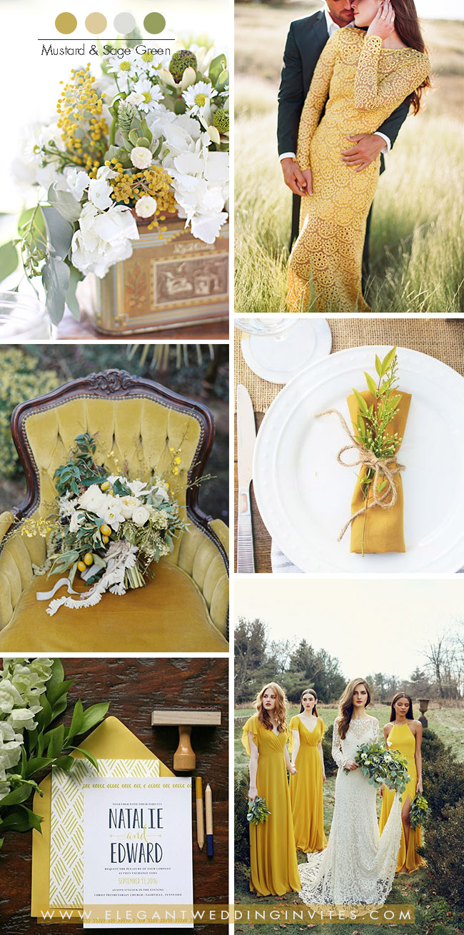 Ochre & Sage Wedding