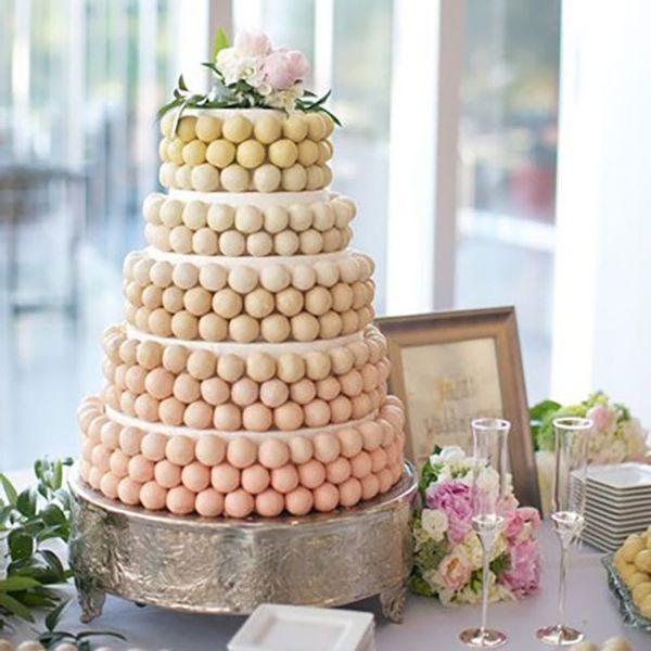 Pastel cake balls