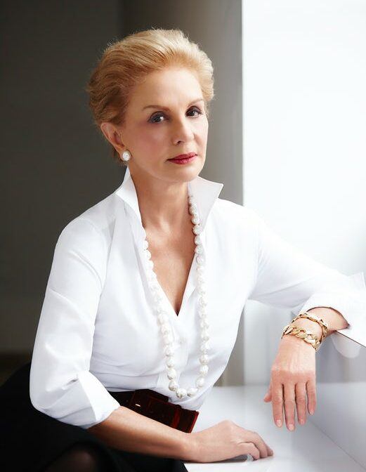 Photo of designer Carolina Herrera