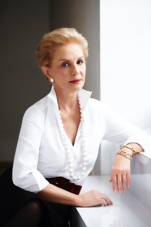 Photo of designer Carolina Herrera