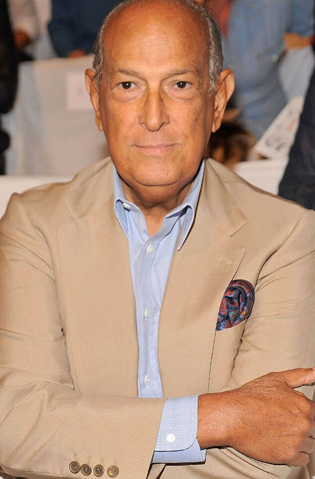Photo of designer Oscar de la Renta
