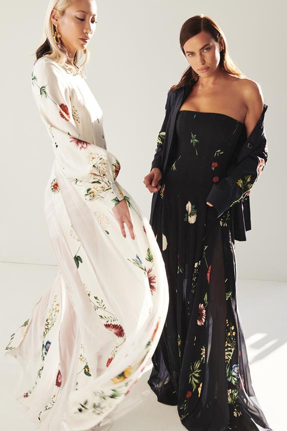 Pre-fall 2021 long gowns from Oscar de la Renta