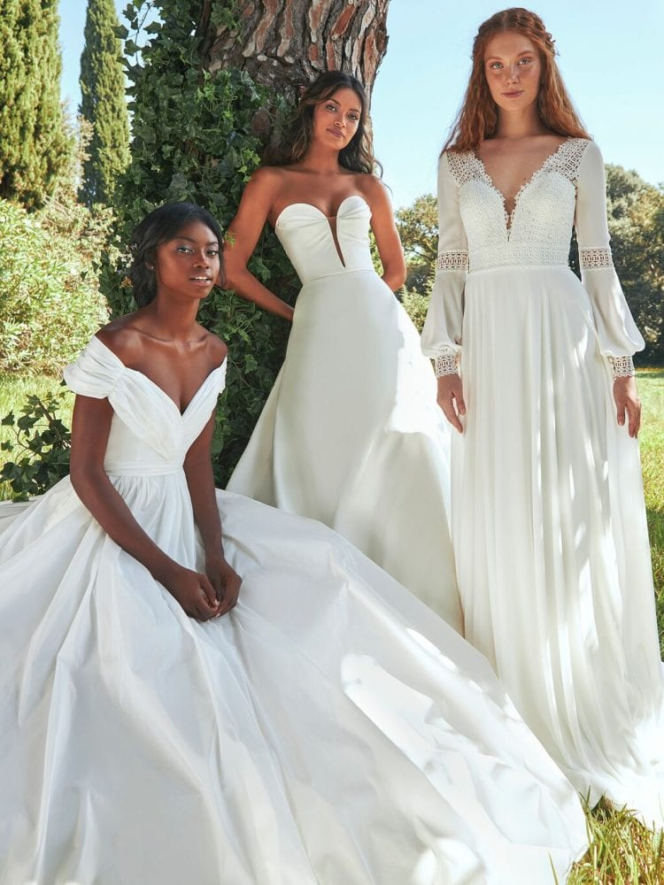 Pronovias' new sustainable wedding dress collection
