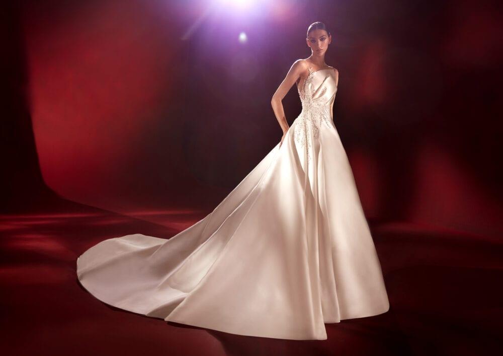 Pronovias Evita gown
