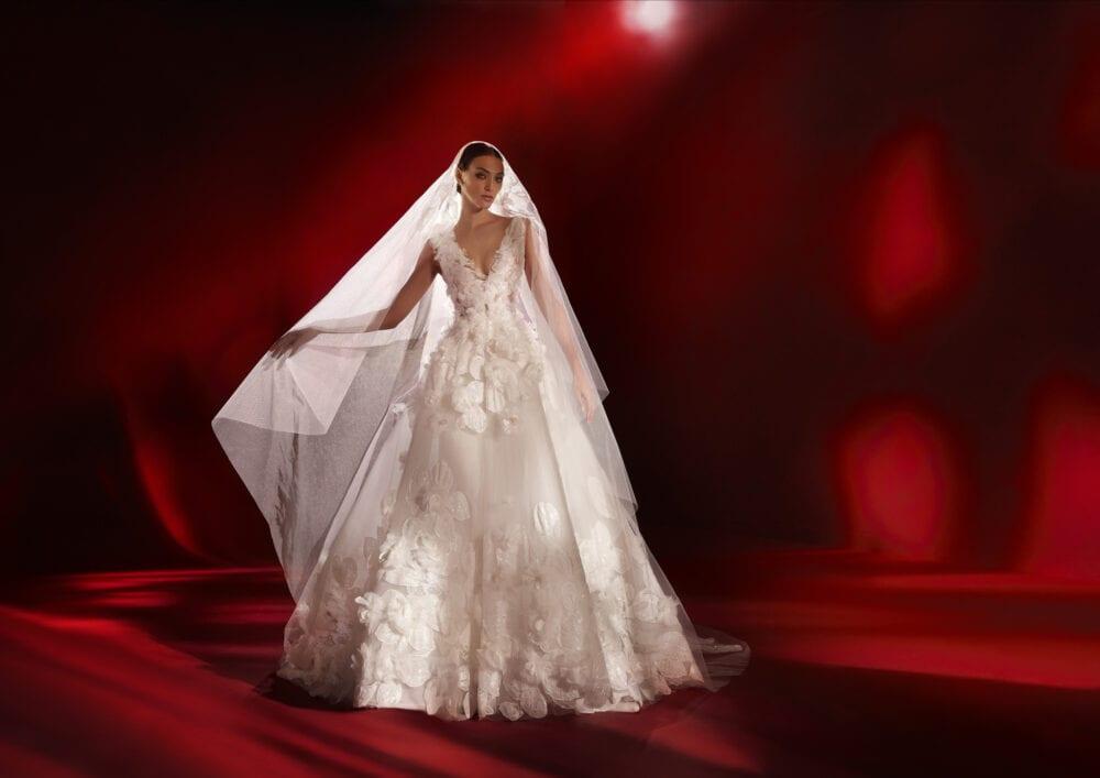 Pronovias Savoy gown