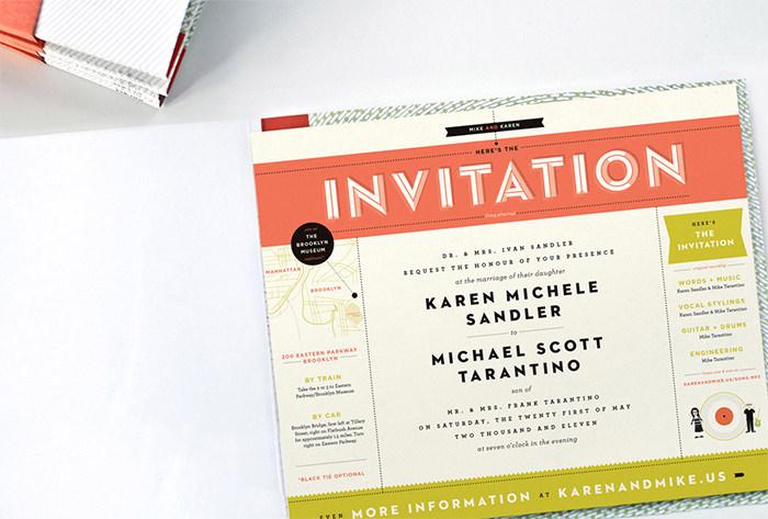 Record player invitation