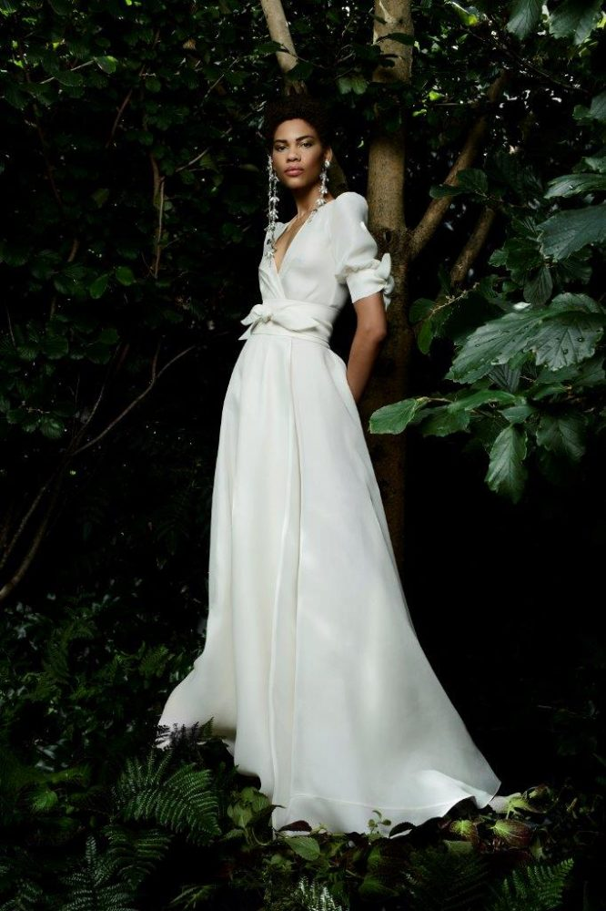 Sanibel gown from Naeem Khan's Fall 2021 Bridal Collection