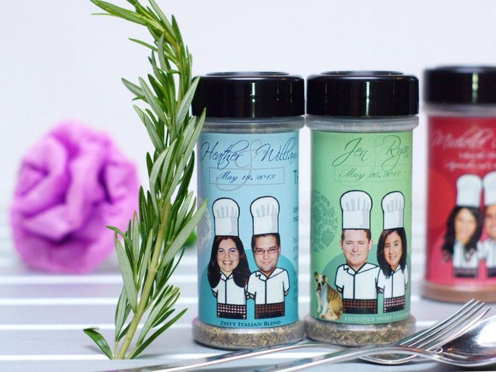 Spice blend wedding favor
