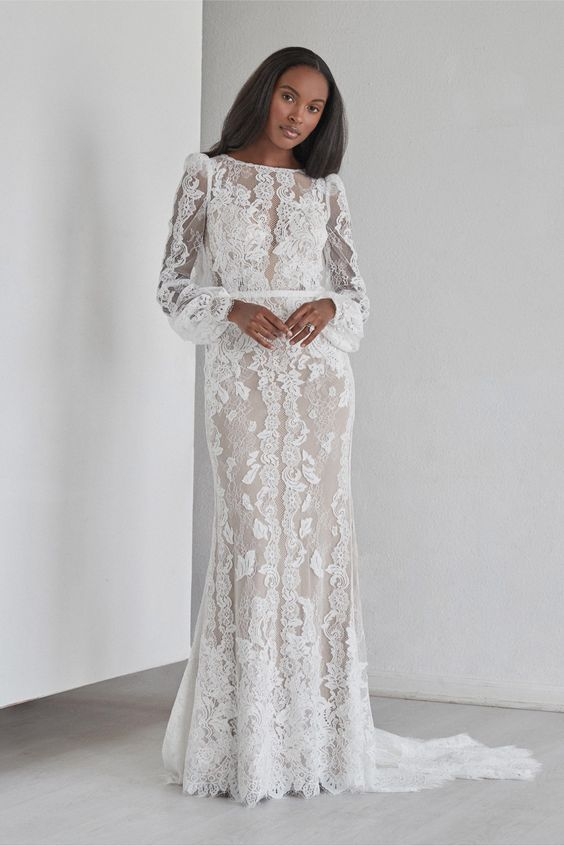 Spruce gown from Watters Fall 2021 Bridal collection