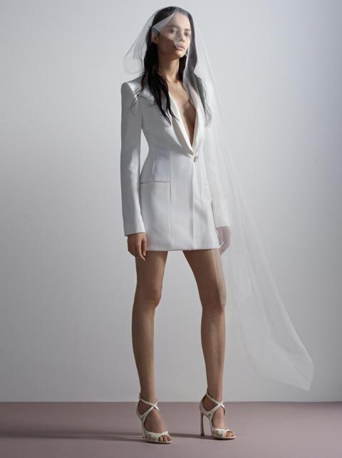 Stella tuxedo dress from Galia Lahav