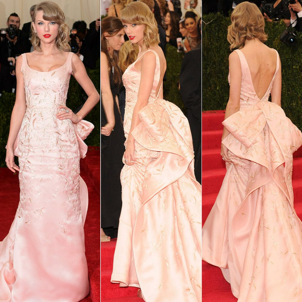 Taylor Swift at the 2014 Met Ball