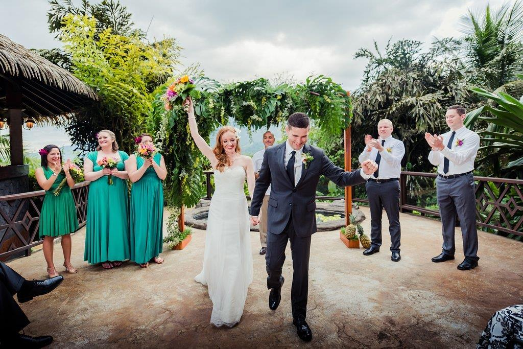 Wedding Ceremony at The Springs