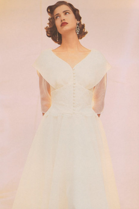 Watters bridesmaid dress from the 80s