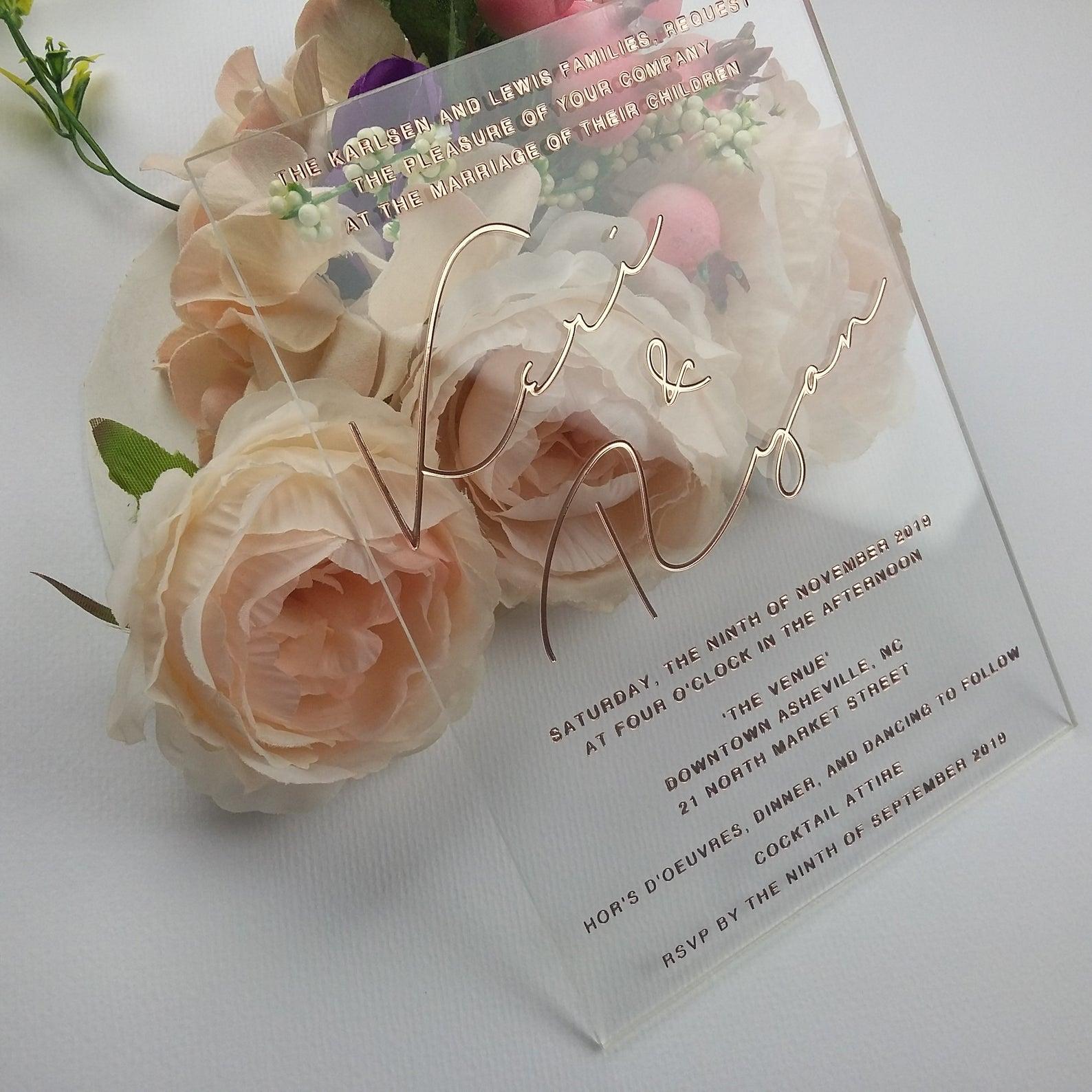 white invitations wedding invitations