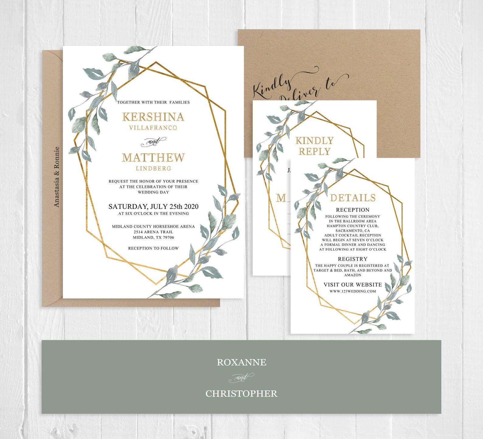arte papery wedding invitations