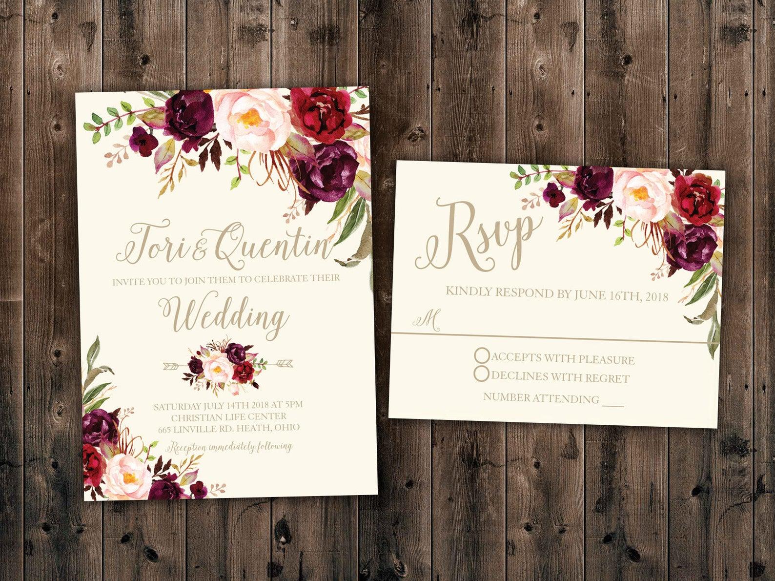 level 33 graphics wedding invitations