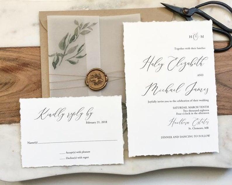 love of creating wedding invitations