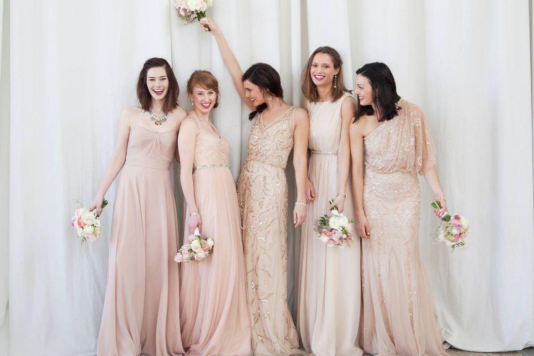 bhldn bridemaids gowns