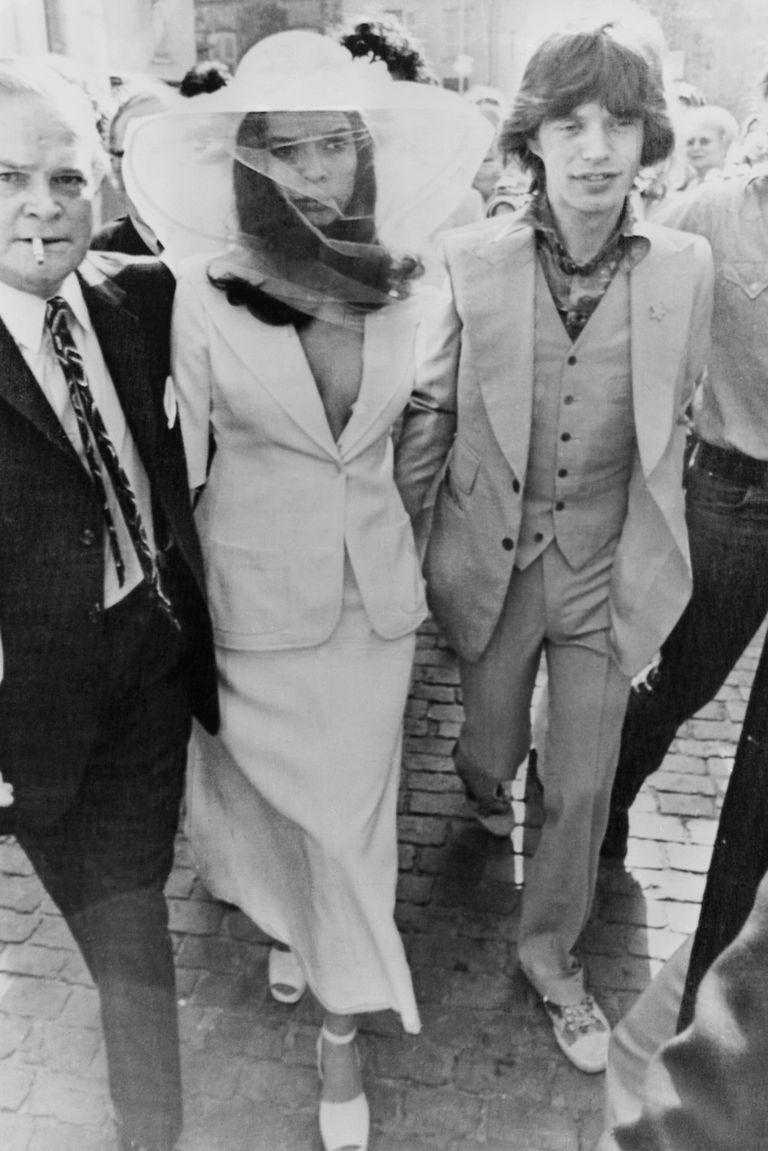 Bianca Jagger's wedding dress