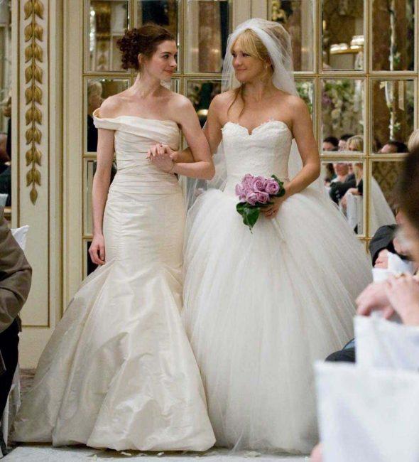 Bride Wars wedding dresses