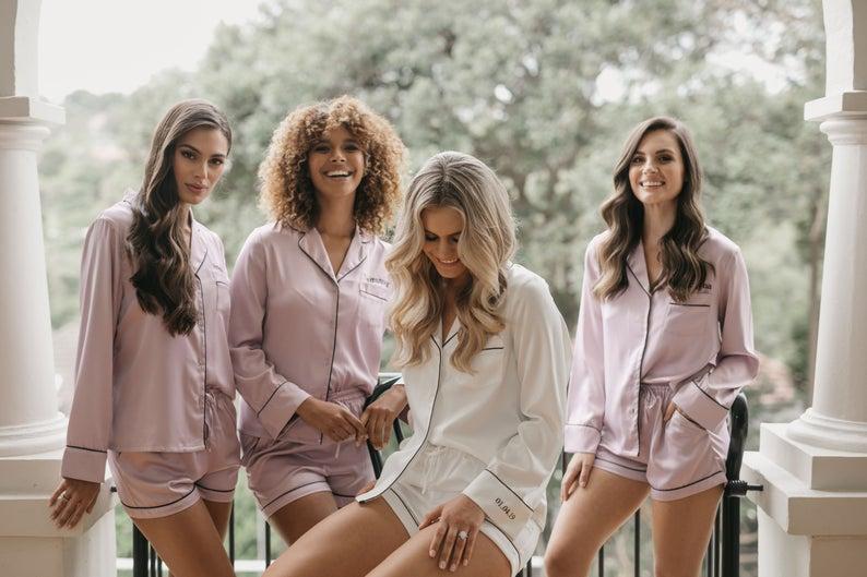 Customized Satin Pajamas