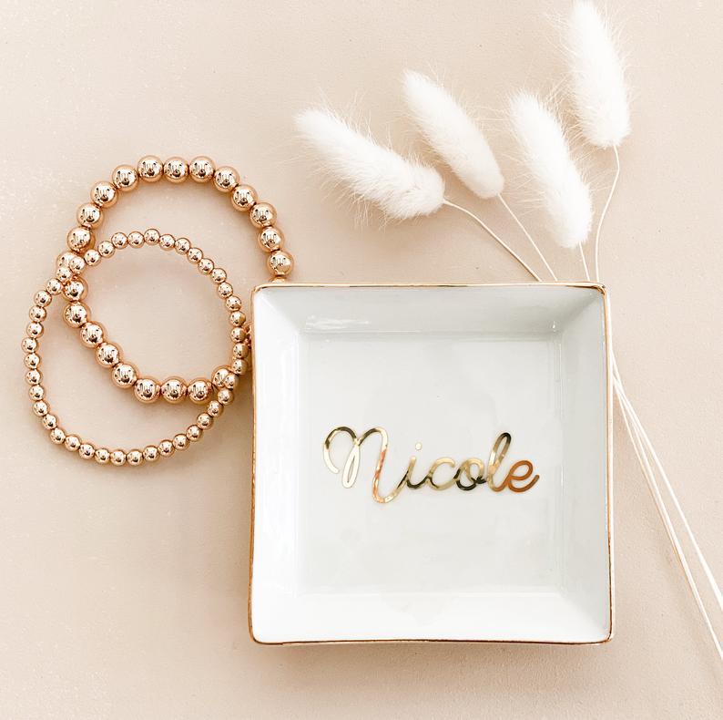 Personalized Jewelry Tray