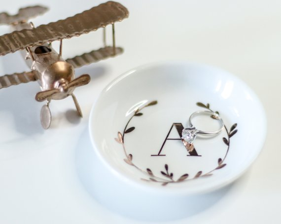 Monogram Ring Dishes