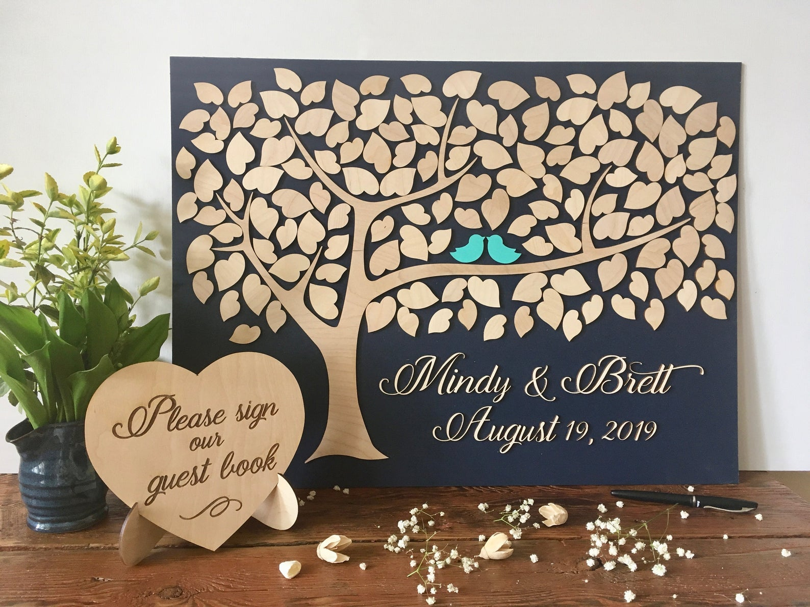 Wedding Tree Guest Book from Sign You Style