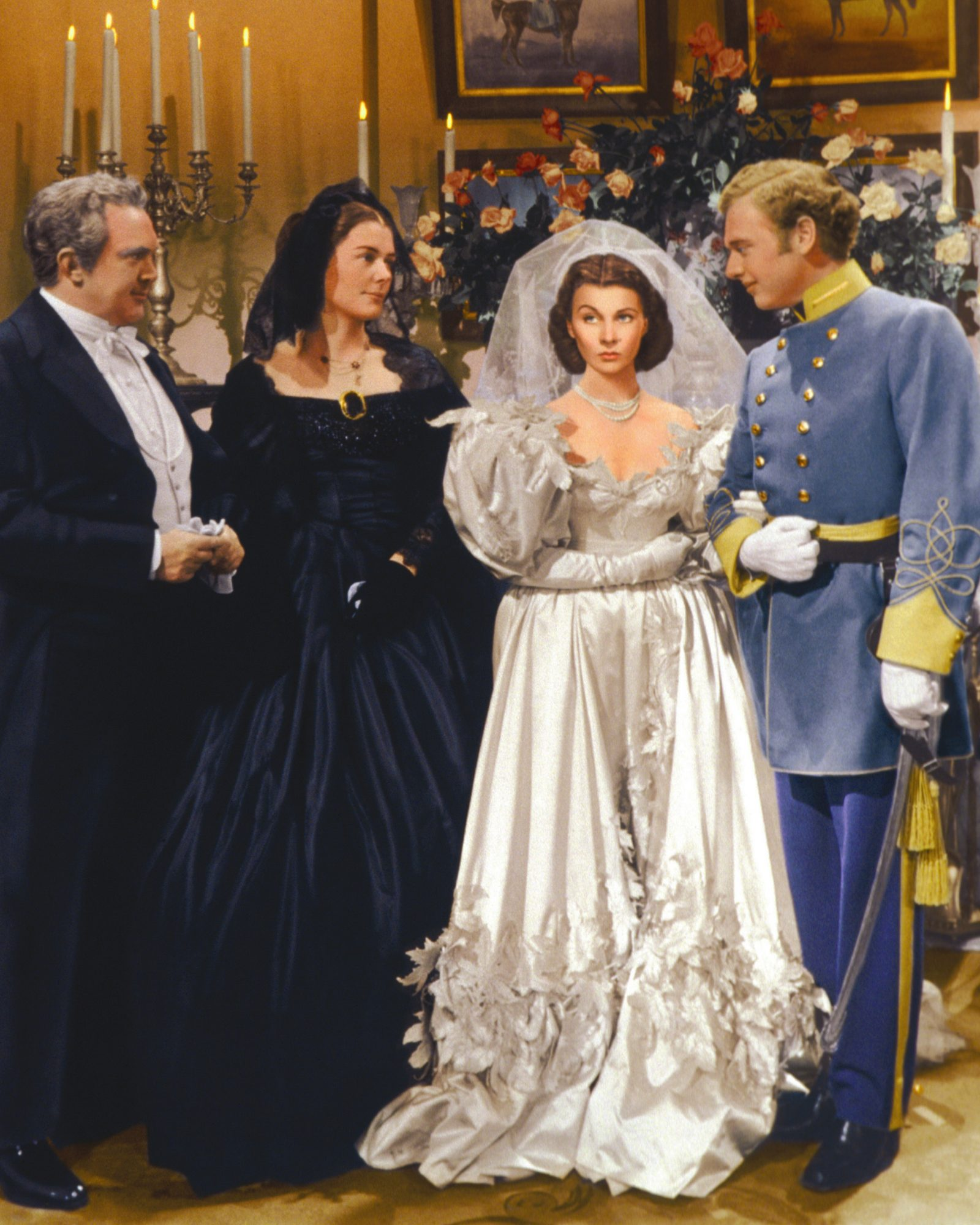 Gone With the Wind wedding dress