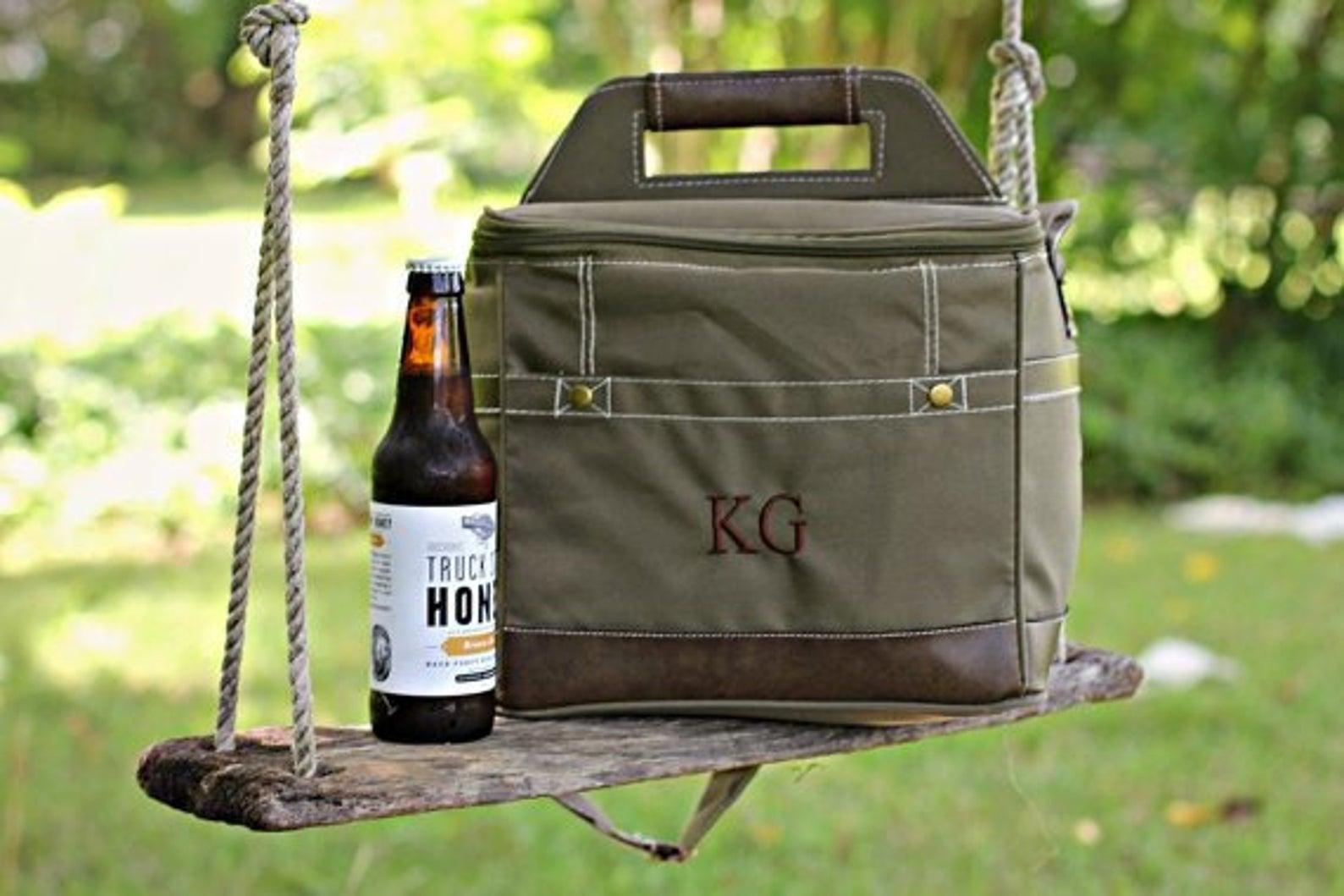 Personalized Beer Cooler Bag