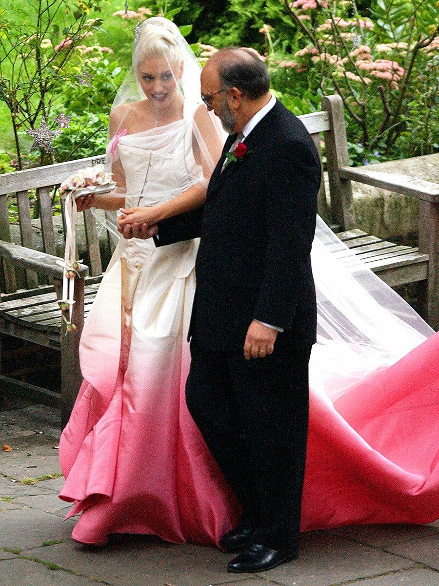 Gwen Stefani's wedding dress