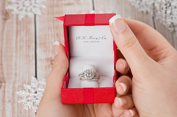 Sponsored: Fall in love with a diamond of exceptional sparkle and brilliance with Macy's Star Signature Diamond™ Collection and pop the question this holiday season!