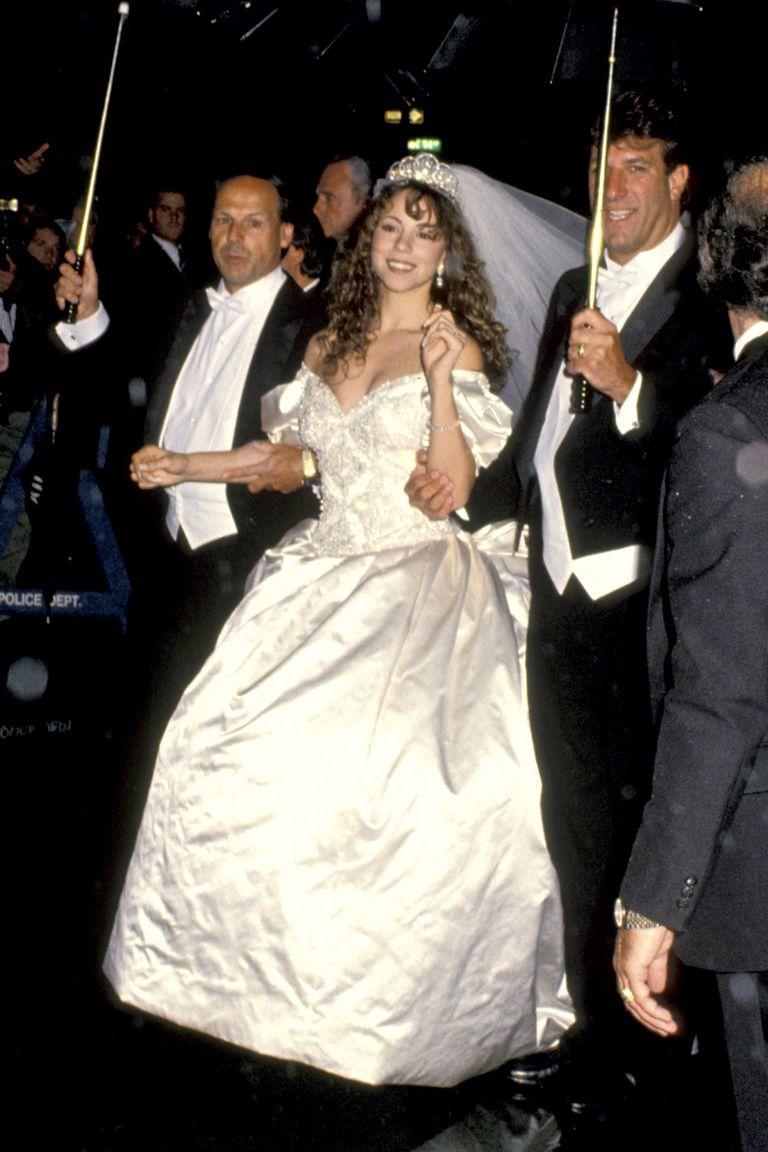 Mariah Carey's wedding dress