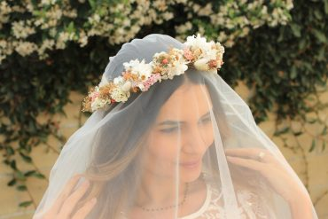 Natural Flowers Headpiece