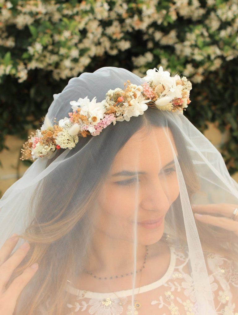 Natural Flowers Headpiece
