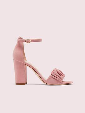 Kate Spade Pink Suede Heels