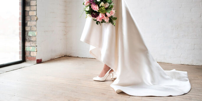 Match Your Wedding Shoes to Your Dress