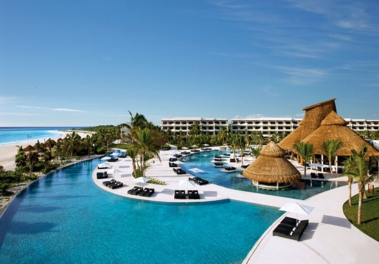 Pool View of Secrets Maroma Beach Riviera Cancun