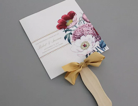 Pretty Blooms program from Sweet Violet Bride