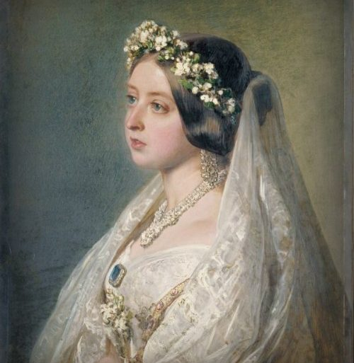 Queen Victoria's wedding dress