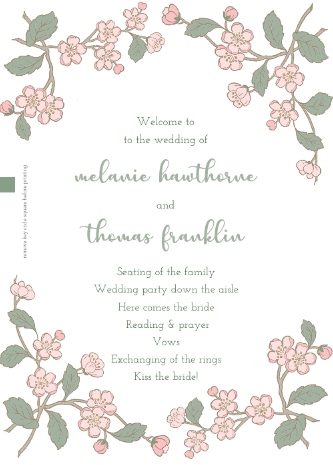 Spring branch program from Download & Print