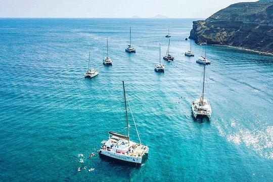 Santorini catamaran cruise
