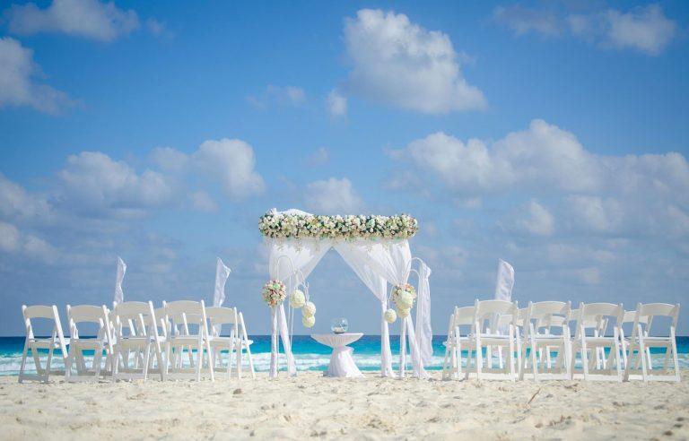 Beach Ceremony at Fiesta Americana Condesa Cancun