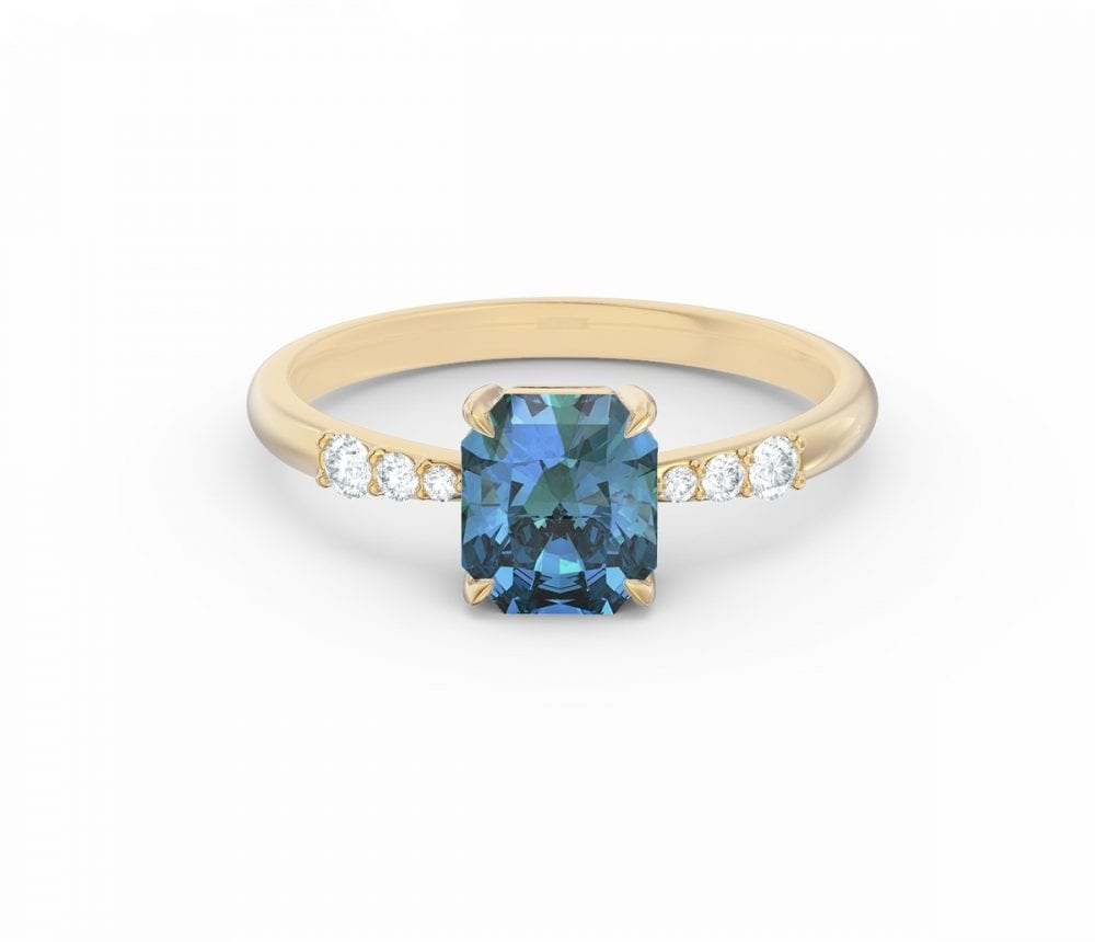 the alice sapphire ring