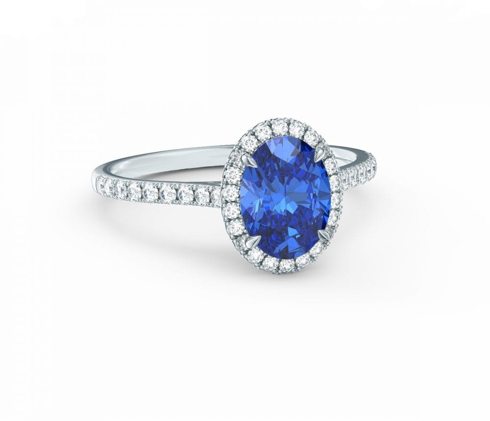 the chloe sapphire ring